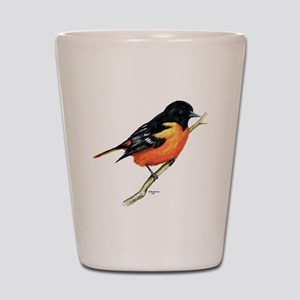 Baltimore Oriole Shot Glass