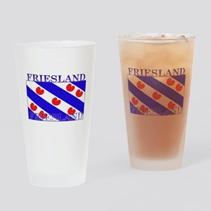 Friesland Frisian Flag Pint Glass
