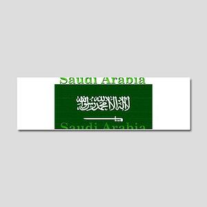 Saudi Arabia Arabian Flag Car Magnet 10 x 3