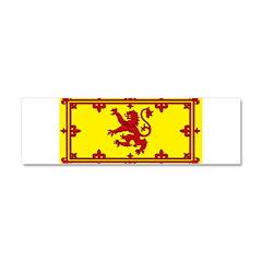 Scotland Scottish Blank Flag Car Magnet 10 x 3