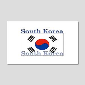 South Korea Car Magnet 12 x 20