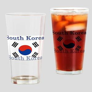 South Korea Pint Glass
