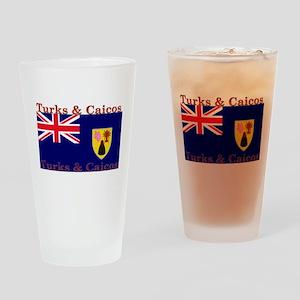 Turks & Caicos Pint Glass
