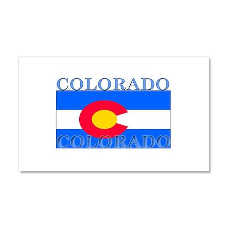 Colorado State Flag Car Magnet 12 x 20
