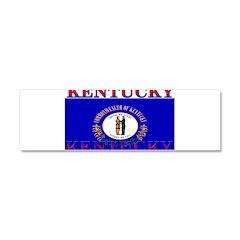 Kentucky State Flag Car Magnet 10 x 3