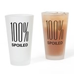 100% Spoiled Pint Glass