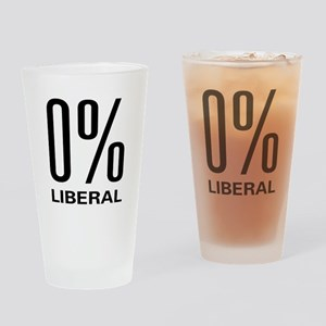 0% Liberal Pint Glass