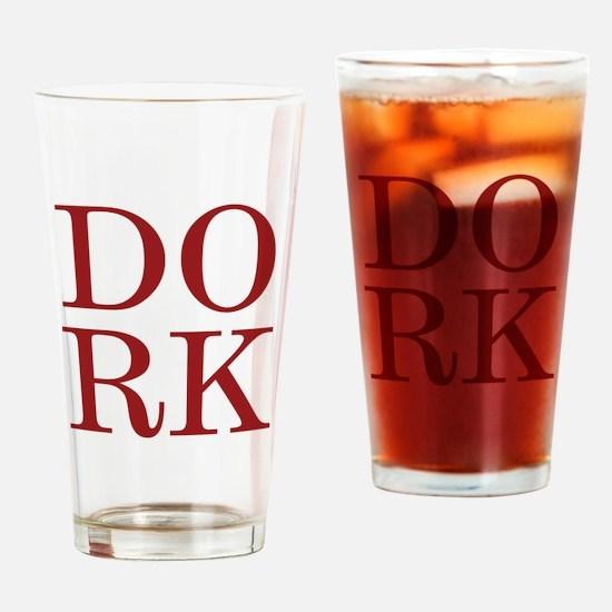 DORK Pint Glass