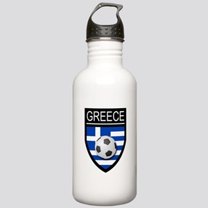 Greece Soccer Patch Stainless Water Bottle 1.0L