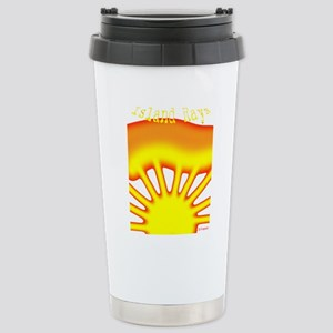 SUNRISE ISLAND RAYS Stainless Steel Travel Mug