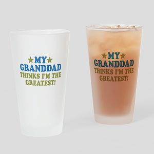 Greatest Granddad Pint Glass
