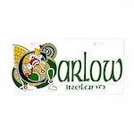 Carlow Aluminum License Plate