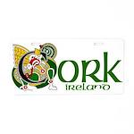 Cork Aluminum License Plate