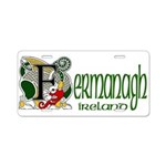 Fermanagh Aluminum License Plate