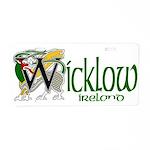 Wicklow Aluminum License Plate
