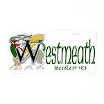 Westmeath Aluminum License Plate