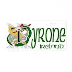 Tyrone Aluminum License Plate