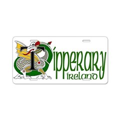 Tipperary Aluminum License Plate