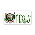 Offaly Aluminum License Plate