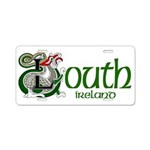 Louth Aluminum License Plate