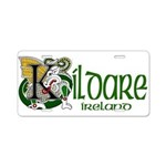 Kildare Aluminum License Plate