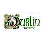 Dublin Aluminum License Plate