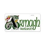 Armagh Aluminum License Plate