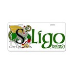 Sligo Aluminum License Plate