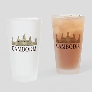 Cambodia Angkor Wat Pint Glass