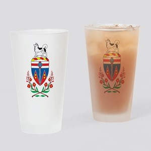 Yukon Coat Of Arms Pint Glass