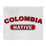 Colombia Native Throw Blanket