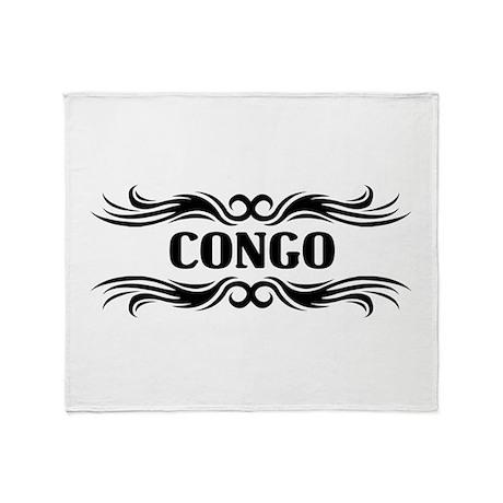 Tribal Congo Throw Blanket