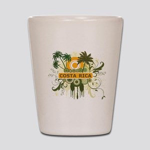 Palm Tree Costa Rica Shot Glass