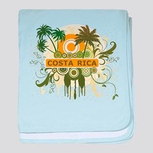 Palm Tree Costa Rica baby blanket