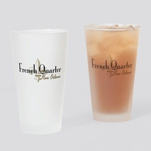 French Quarter New Orleans Pint Glass