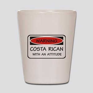 Attitude Costa Rican Shot Glass