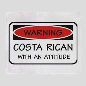 Attitude Costa Rican Throw Blanket