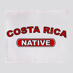 Costa Rica Native Throw Blanket