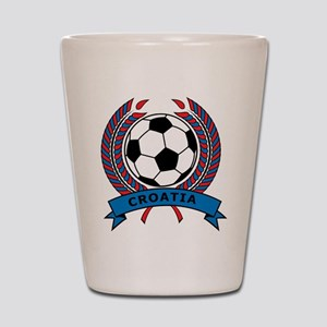 Soccer Croatia Shot Glass