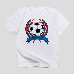Soccer Croatia Infant T-Shirt