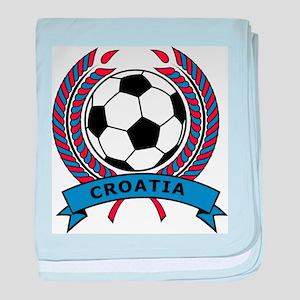 Soccer Croatia baby blanket