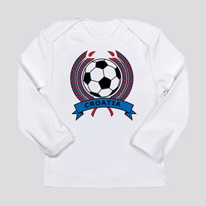 Soccer Croatia Long Sleeve Infant T-Shirt