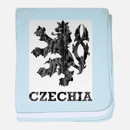 Vintage Czechia baby blanket
