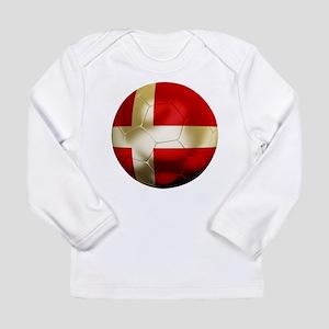 Denmark Football Long Sleeve Infant T-Shirt