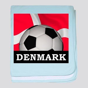 Denmark Football baby blanket