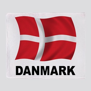 Danmark Throw Blanket