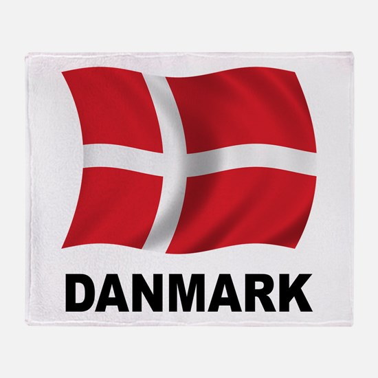 Danmark Throw Blanket