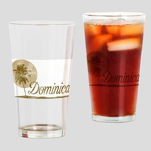 Palm Tree Dominica Pint Glass