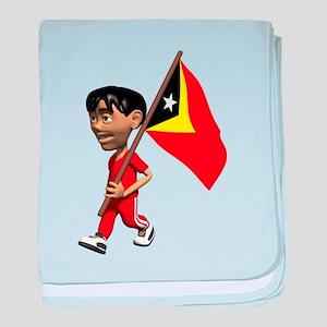 3D East Timor baby blanket