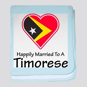 Happily Married Timorese baby blanket